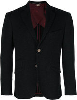 Maurizio Miri fitted button up suit jacket