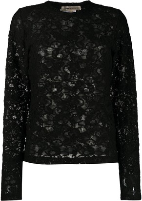Comme des Garcons All-Over Lace Pullover Top