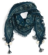 Madewell Women's Batik Diamond Scarf