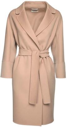 Max Mara 'S Arona Wool Belted Coat