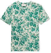 Gucci Slim-fit Floral-print Cotton T-shirt