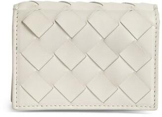 Bottega Veneta Leather Intrecciato Trifold Wallet