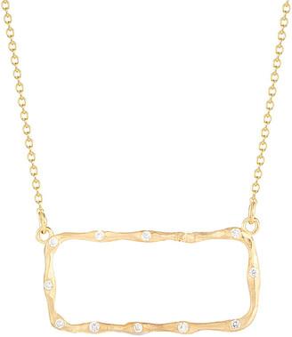 Reiss I. 14K 0.22 Ct. Tw. Diamond East-To-West Necklace