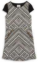 Rare Editions Girls 7-16 Aztec Print A-Line Dress