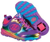 Heelys Race Girl's Shoe - Black/ Rainbow