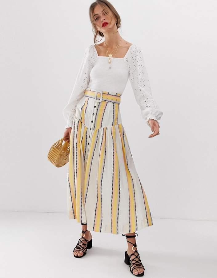 444a8d6b05 Drop Waist Skirt - ShopStyle