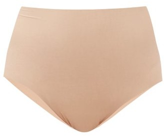 Commando Butter High-rise Modal-blend Briefs - Beige