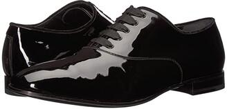 Salvatore Ferragamo Belshaw Patent Oxford (Nero) Men's Shoes