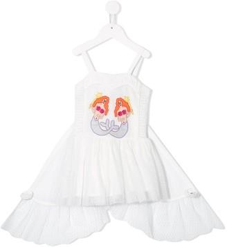 Stella Mccartney Kids Mermaid Embroidered Dress