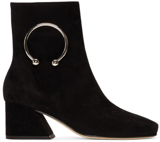 Dorateymur Black Suede Nizip Re-Edition Boots