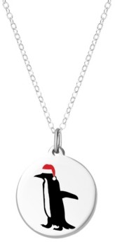 Auburn Jewelry Penguin Necklace in Sterling Silver