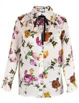 Gucci blouse à fleurs