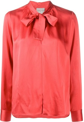 Forte Forte Pussy-Bow Long-Sleeved Blouse
