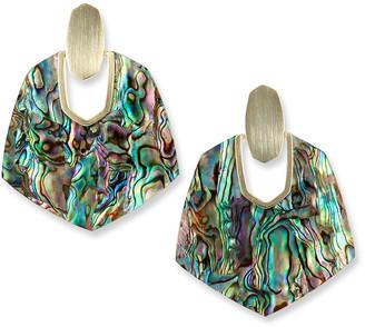 Kendra Scott Amaranth Pearly Drop Earrings