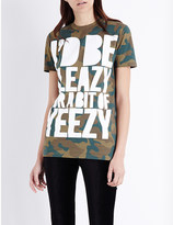 House of Holland Yeezy cotton-jersey t-shirt