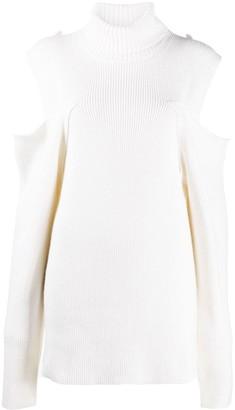 FEDERICA TOSI Open-Shoulder Roll-Neck Sweater