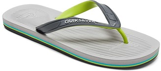 Quiksilver Haleiwa II (Black/Grey/Black) Men's Sandals