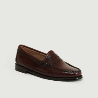 G.H. Bass G.H.Bass - Burgundy Weejuns Whitney Loafers Shoes - 36
