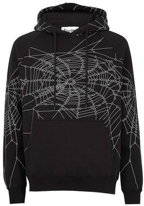 Études Racing hood spider hoodie