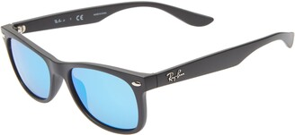 Ray-Ban Junior 48mm Wayfarer Mirrored Sunglasses