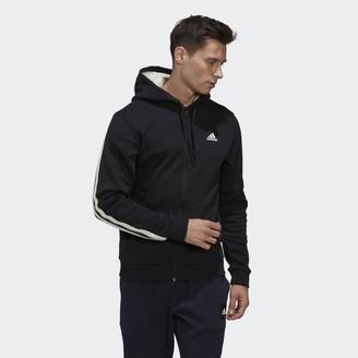 adidas Winter 3-Stripes Full-Zip Hoodie