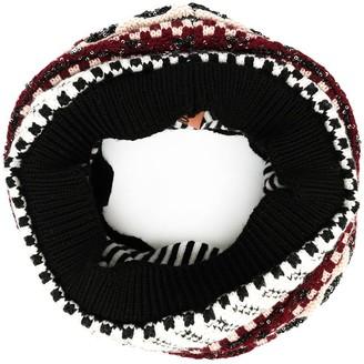 Missoni Patterned-Knit Snood Scarf