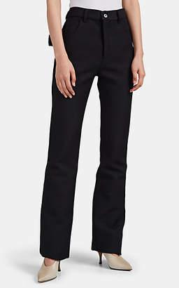 Bottega Veneta Women's Neoprene Slim Flared Pants - Black