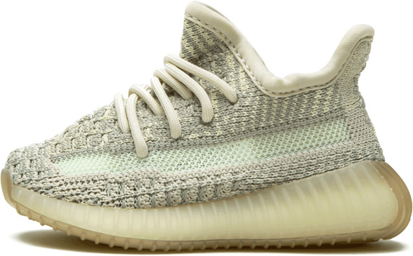 Adidas Yeezy Boost 350 V2 Infant 'Citrin' Shoes - Size 4K