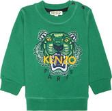 Kenzo Tiger icon cotton-blend sweatshirt 6-18 months