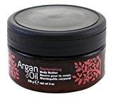 Body Drench Argan Oil Body Butter 8 Ounce Jar (235ml) (2 Pack)