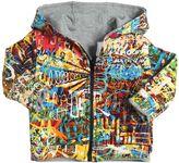 Junior Gaultier Reversible Cotton Piqué Sweatshirt