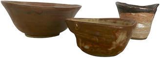 One Kings Lane Vintage Studio Pottery / Three Pieces - nihil novi