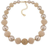 Carolee Colored Pearl Stone Necklace