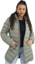 Thumbnail for your product : Brave Soul Ladies' Jacket GRANTLONGB Sage UK 10