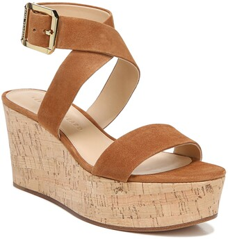 Veronica Beard Hurley Platform Wedge Sandal
