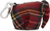 Loewe Tartan wool Elephant coin purse