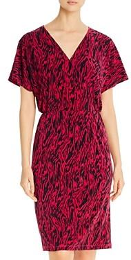 Leota Ruby Animal Print Dress
