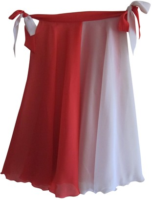 Christian Dior Orange Polyester Skirts