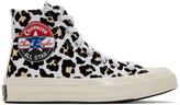 Converse Off-White Chuck 70 HI Logo Play Sneakers