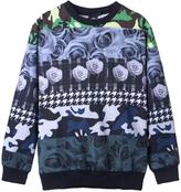 Camo 3D Unisex Rose & Contrast Print Sweatshirt