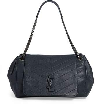Saint Laurent Medium Leather Nolita Shoulder Bag