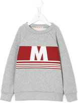 Marni M print sweatshirt