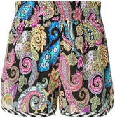 Etro paisley printed shorts