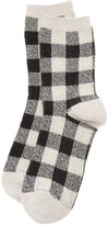 Madewell Buffalo Check Trouser Socks