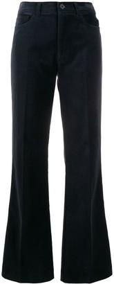 Zadig & Voltaire Flared Velvet Trousers