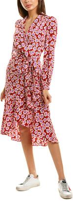 Diane von Furstenberg Carla Silk Wrap Dress