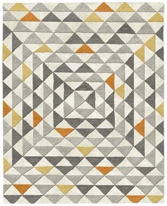 west elm Framed Triangles Wool Rug