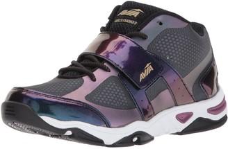 Avia Women's GFC Studio II Sneaker Black/Iron Grey/Plumberry 6 Medium US