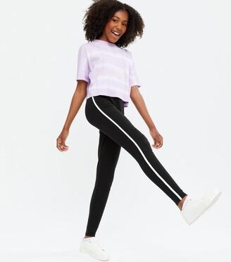 New Look Girls Side Stripe Leggings