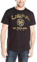 U.S. Polo Assn. Men's Crew Neck USPA Graphic T-Shirt